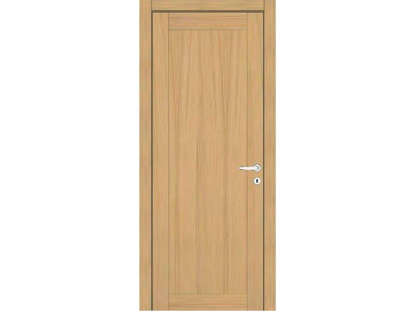 Hinged wooden door IMAGO 41I ROVERE GHIACCIO by GD DORIGO