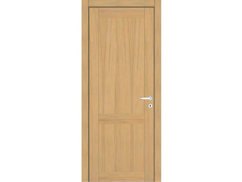 Hinged wooden door IMAGO 51I ROVERE GHIACCIO by GD DORIGO