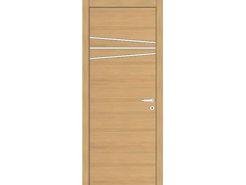 Hinged wooden door IMAGO 388 ROVERE GHIACCIO by GD DORIGO