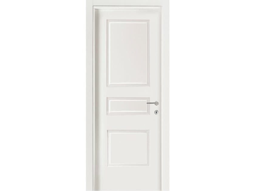 Hinged wooden door IMAGO 530IV1 FRASSINO BIANCO INCISO by GD DORIGO