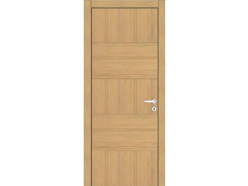 Hinged wooden door IMAGO 610I ROVERE GHIACCIO by GD DORIGO