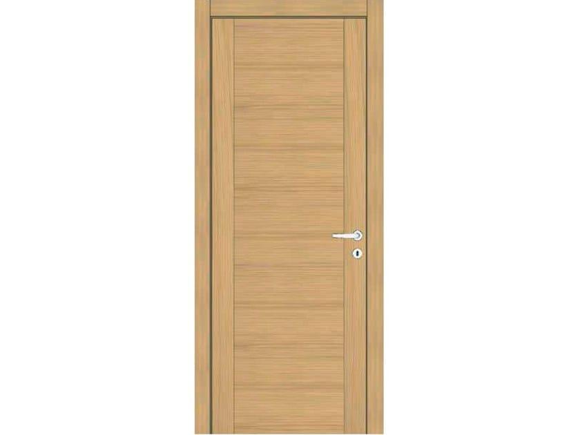 Hinged wooden door IMAGO 730I ROVERE GHIACCIO by GD DORIGO