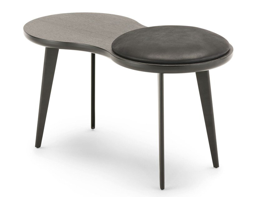 Wooden stool / coffee table IMAGO by Living Divani