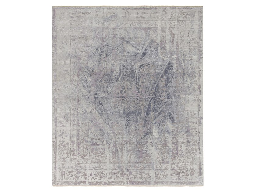 Tappeto fatto a mano su misura IMMERSIVE ICEBERG PURPLE by Thibault Van Renne