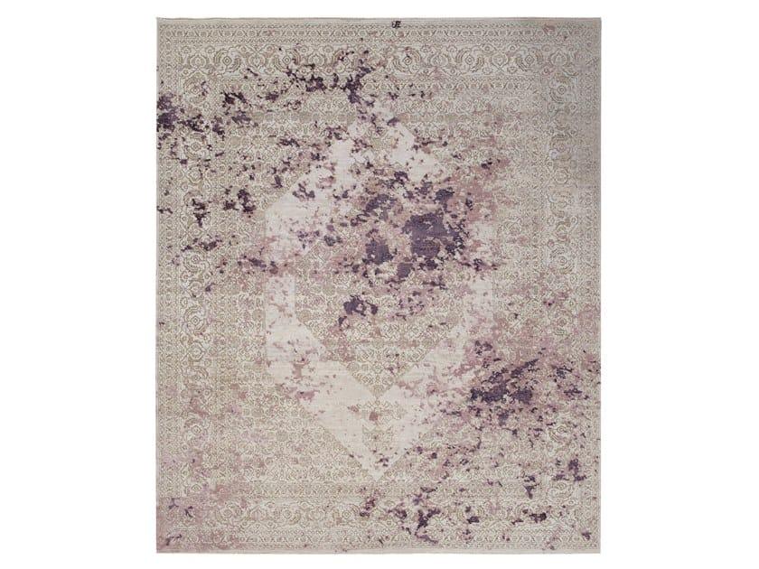 Tappeto fatto a mano su misura IMMERSIVE LOST MEMORY BROWN WINE by Thibault Van Renne