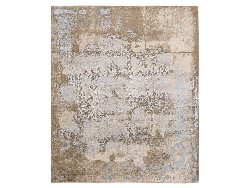 Tappeto fatto a mano su misura IMMERSIVE WALL BEIGE by Thibault Van Renne