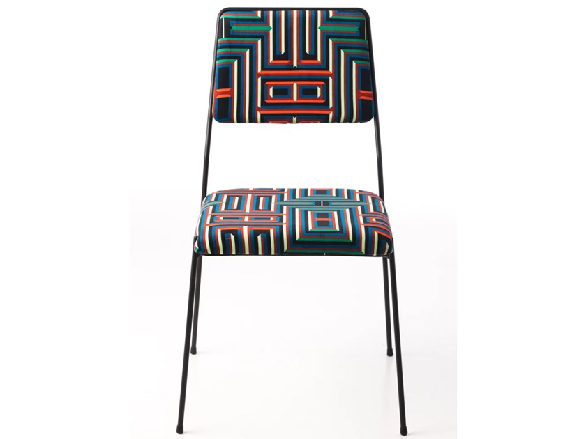 Upholstered polyester chair IMPALA© BY CORALIE PRÈVERT | Chair by AIRBORNE