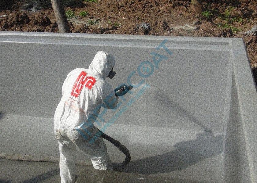 Liquid waterproofing membrane IMPERCOAT POLIUREA SPRAY - FC by Impercoat