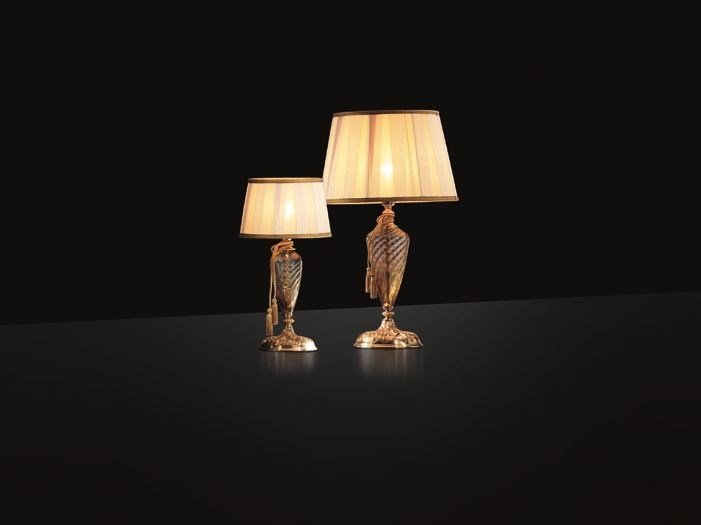 Table lamp with Swarovski® crystals IMPERO LG1 LP1 by Euroluce Lampadari