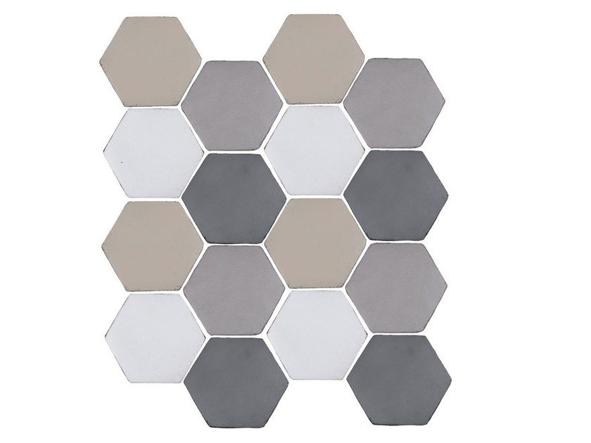 Indoor faïence wall tiles IMPRESSIONI MIX PACK.2 by Danilo Ramazzotti