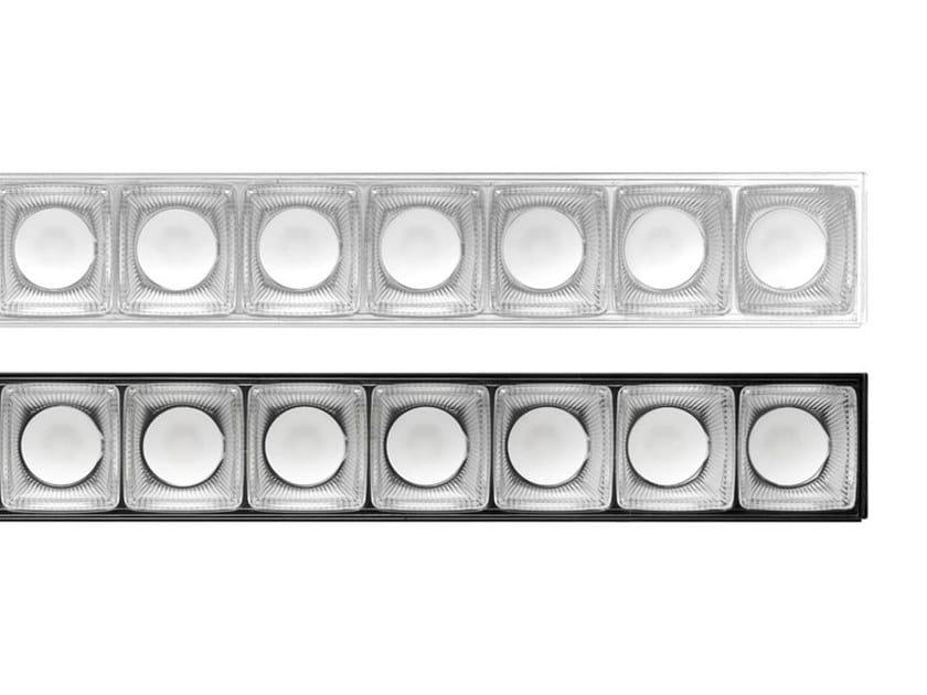 LED modular extruded aluminium ceiling lamp IN 60 SPACE   Ceiling lamp by iGuzzini