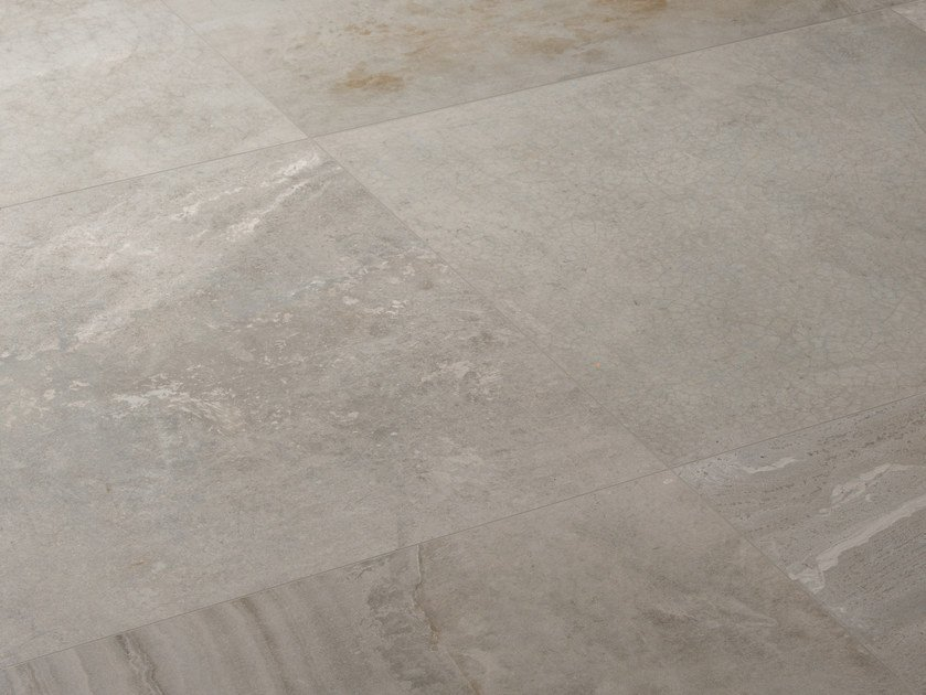 Indoor porcelain stoneware wall/floor tiles with stone effect IN-ESSENCE COMPOSTO GRIGIO by Provenza by Emilgroup