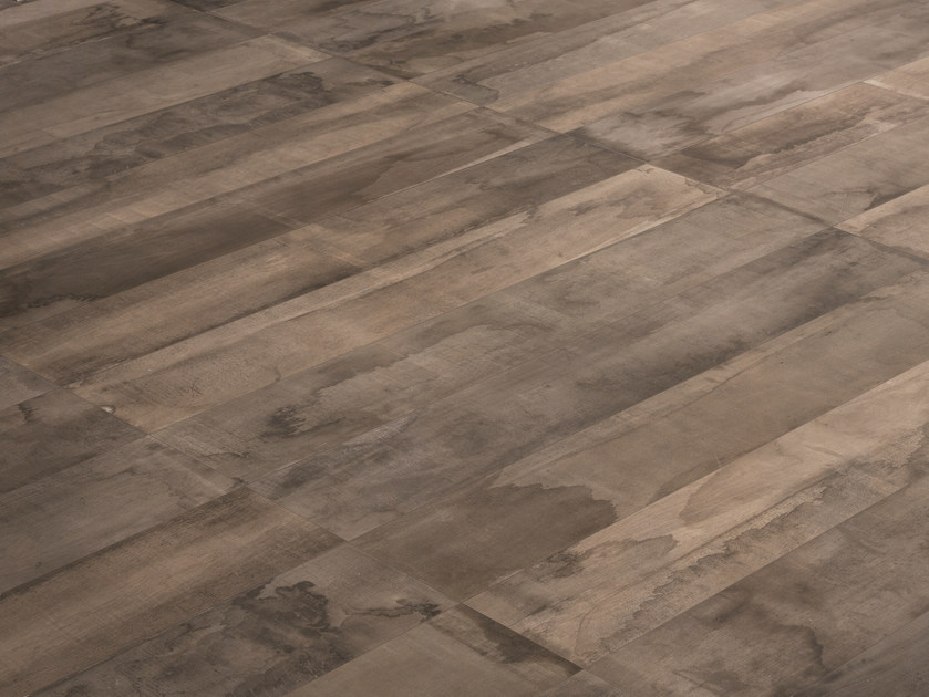 Porcelain stoneware wall/floor tiles with wood effect IN-ESSENCE NOCE OSSIDATA by Provenza by Emilgroup