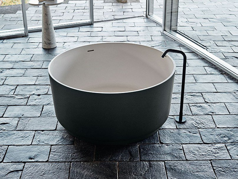 Freestanding round Exmar bathtub IN-OUT   Exmar bathtub by Agape
