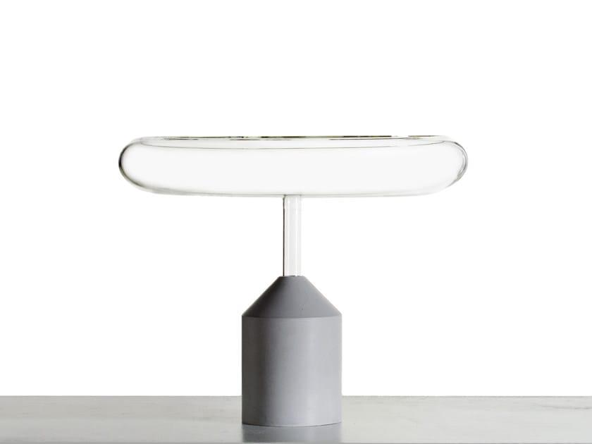 Glass centerpiece IN THE AIR | Centerpiece by Secondome Edizioni