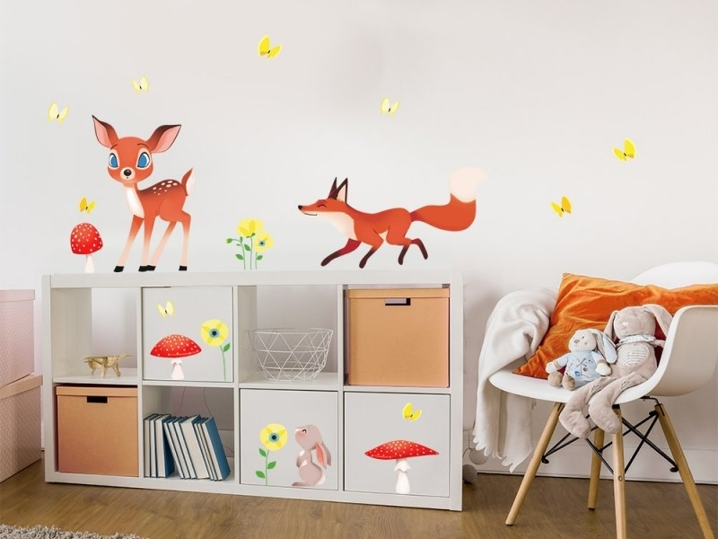 Wandtattoo Fürs Kinderzimmer | Wandtattoo Fur Kinderzimmer In The Woods Kollektion Countryside By