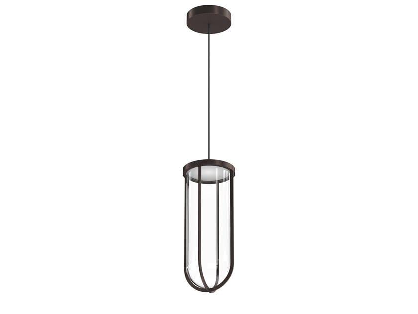Lampada a sospensione per esterno a LED in alluminio verniciato a polvere IN VITRO   Lampada a sospensione per esterno by Flos