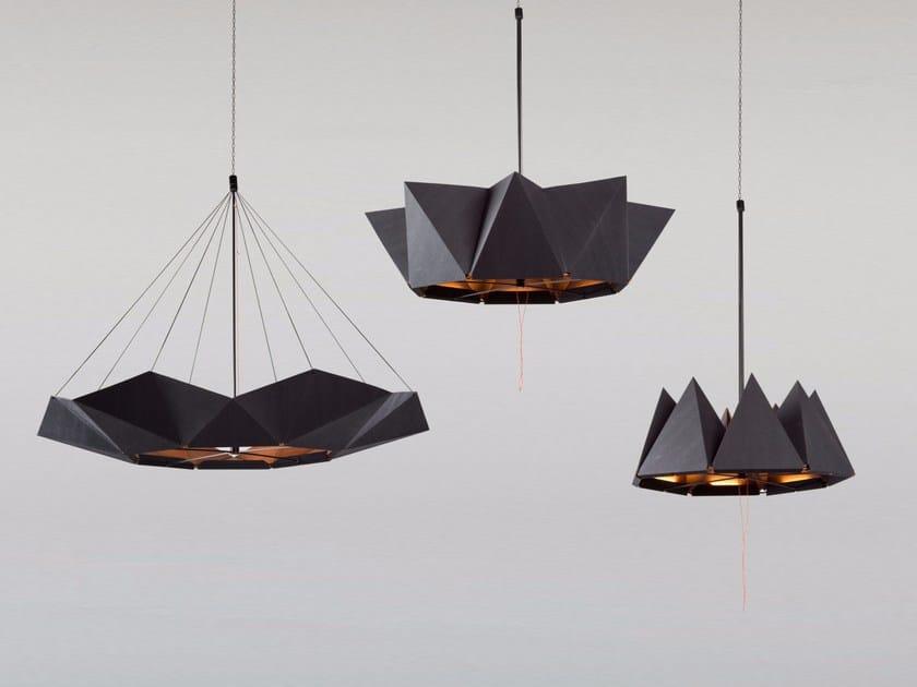Lampada a sospensione a LED fatta a mano inMOOV by Studio Lieven