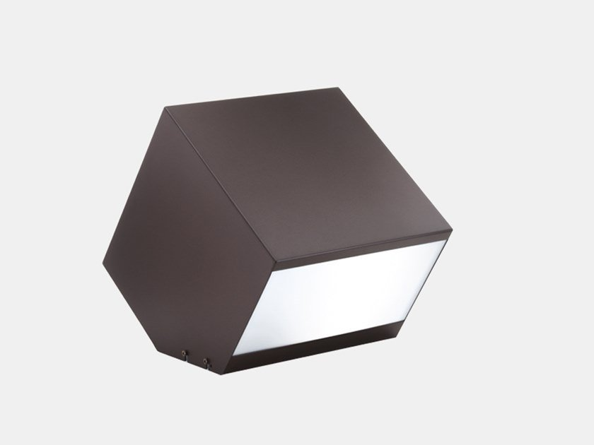 LED painted metal bollard light INBOX - OUTBOX X1C5 by Il Fanale