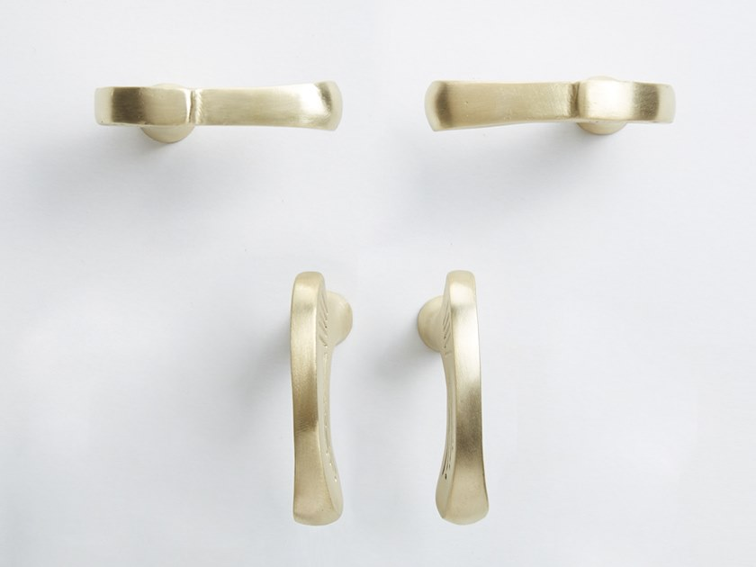 Brass Furniture knob INCA EVOLUTION by NJ Interiors