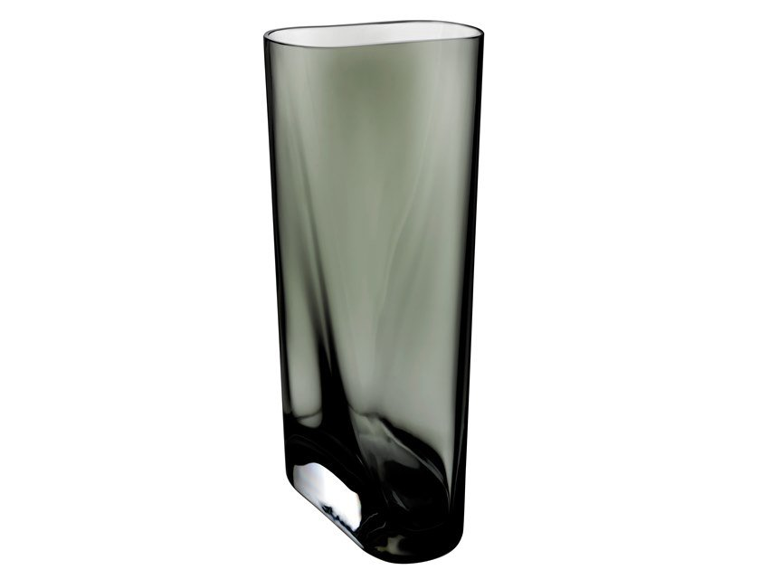 Crystal vase INCA M by NUDE