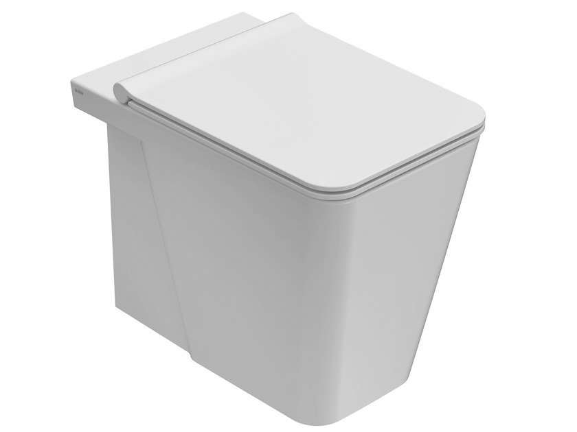 Floor mounted ceramic toilet INCANTHO | Floor mounted toilet by Ceramica Globo