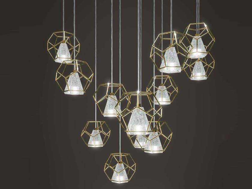 Lampada a sospensione in cristallo INCANTO by Marchetti