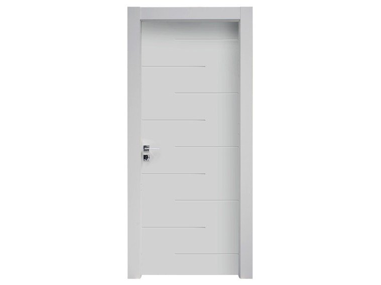 Hinged lacquered wooden door INCANTO by NUSCO