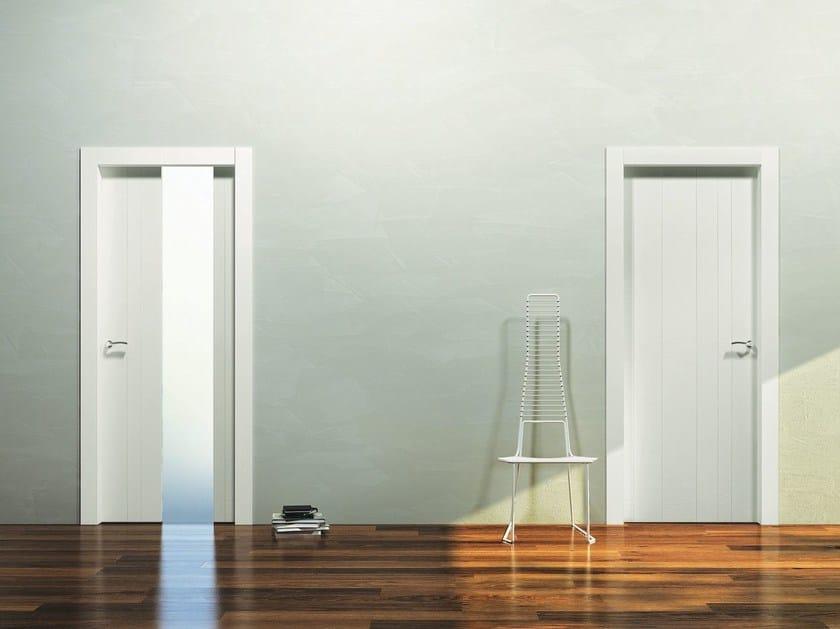 Porta a battente in legno INCANTO S by Pail Serramenti