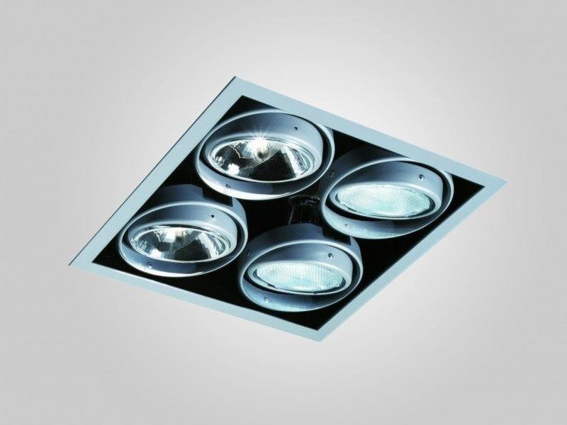 Recessed adjustable painted metal spotlight INCAS SPOT | Multiple spotlight by LUCIFERO'S