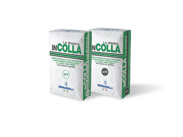 Cement-based glue INCOLLA C2TE by Bernardelli Group