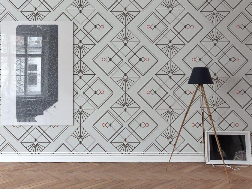Fire retardant Digital printing wallpaper INCONTRI by NANNI GIANCARLO & C.