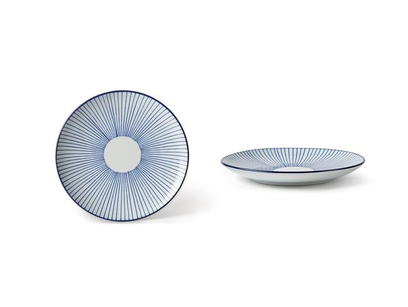 Porcelain dessert plate INDACO FL. 001 | Dessert plate by Fill