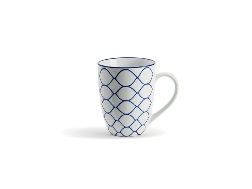 Porcelain mug INDACO FL. 007 | Mug by Fill