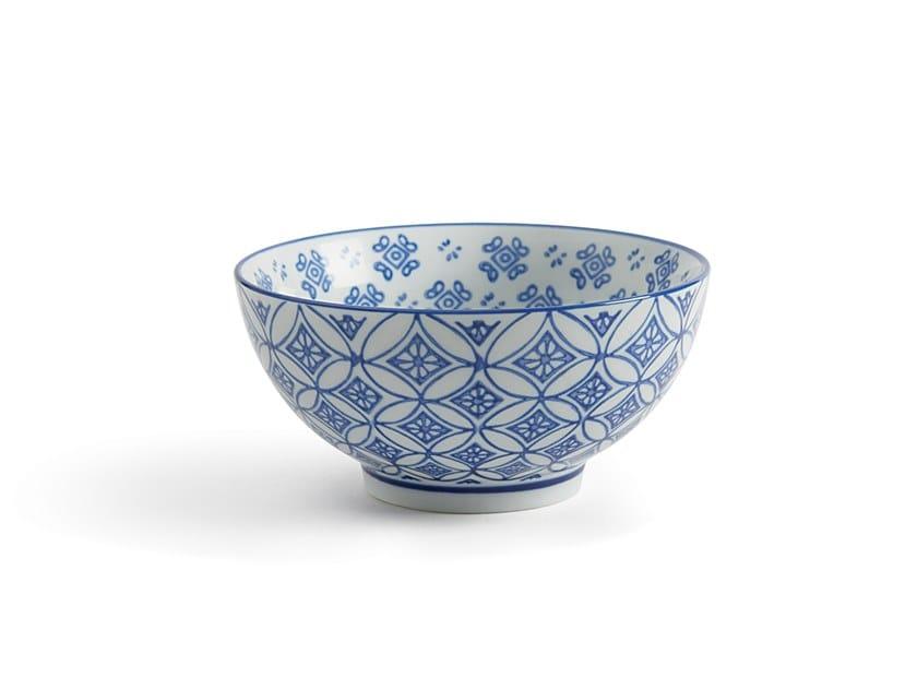 Porcelain serving bowl INDACO FL. 008 | Serving bowl by Fill