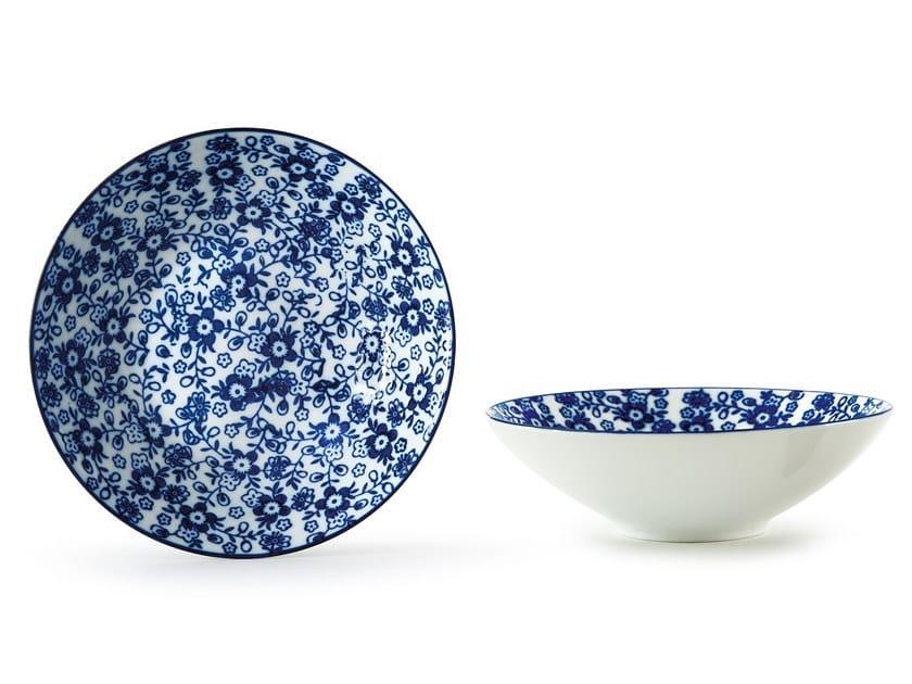 Porcelain serving bowl INDACO FL. 011 | Serving bowl by Fill