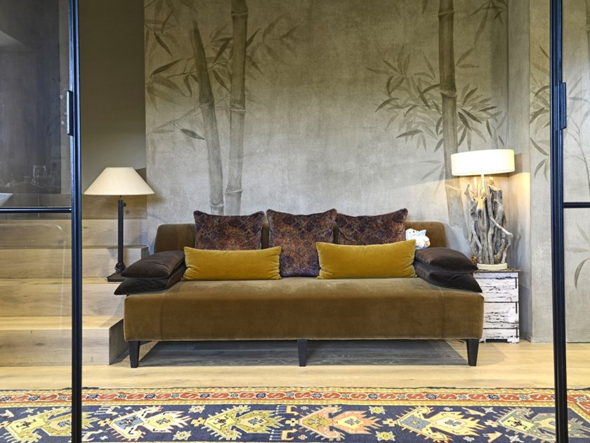 2 seater fabric sofa INDIA by Gobbo Salotti
