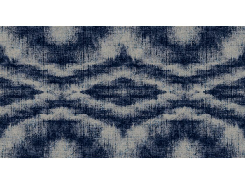 Digital printing wallpaper INDIGO CANVAS by Architects Paper