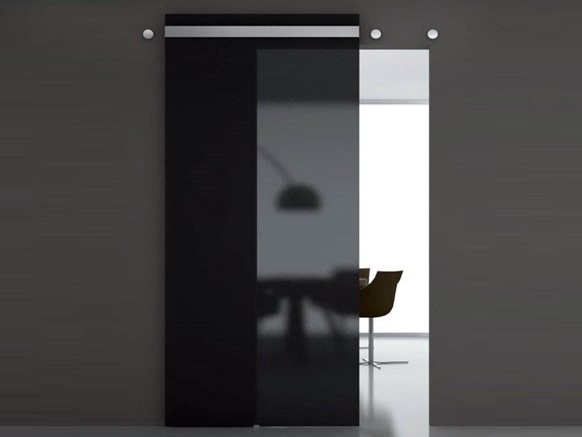 Sliding door track INDIPENDENT by Metalglas Bonomi