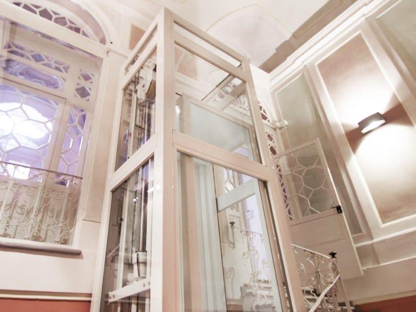 Small lifts for public environments INDOMO by LIFTINGITALIA