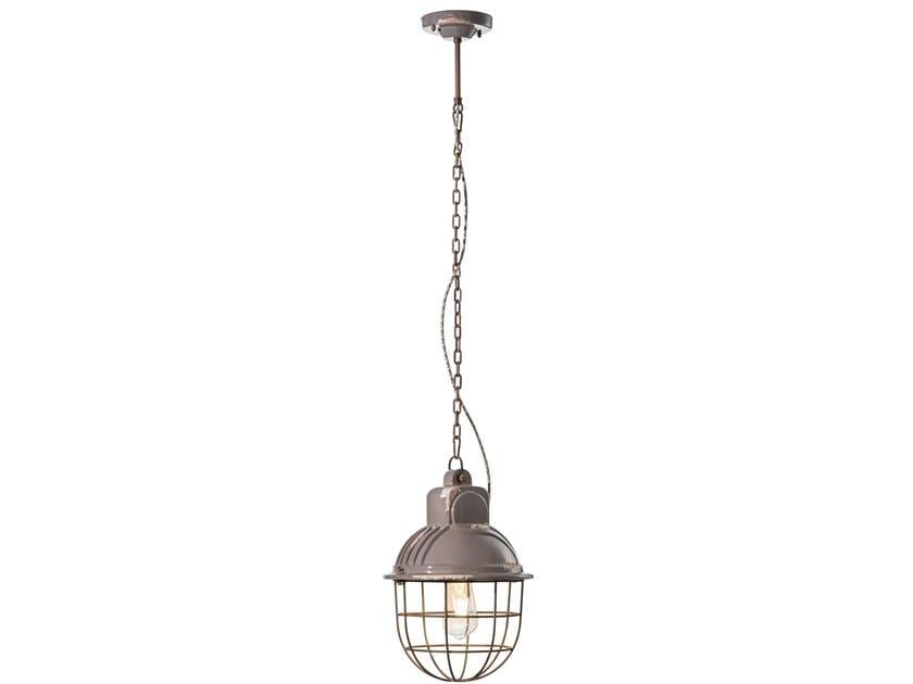 Lampada a sospensione a luce diretta in ceramica INDUSTRIAL | Lampada a sospensione in ceramica by FERROLUCE
