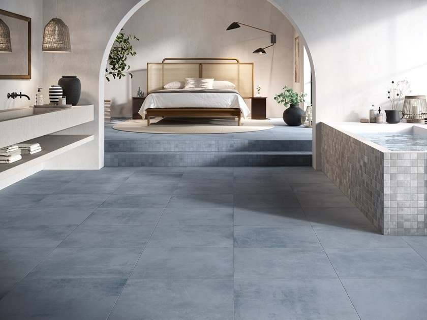 Porcelain stoneware wall/floor tiles with concrete effect INDUSTRIAL COLOR CHIC by Ceramica Rondine