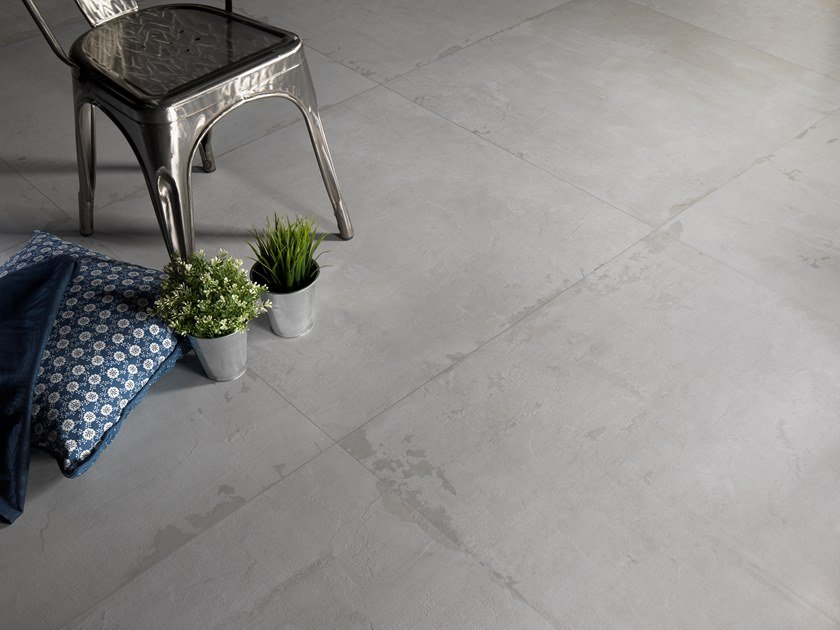 Porcelain stoneware wall/floor tiles with concrete effect INDUSTRIAL by ECCENTRICO
