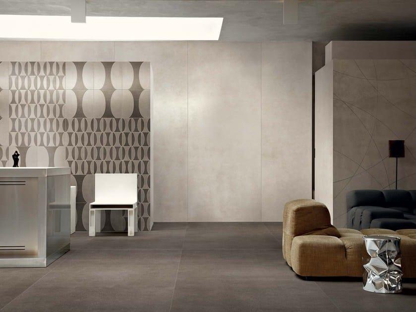 Pavimento rivestimento in gres porcellanato per interni ed esterni