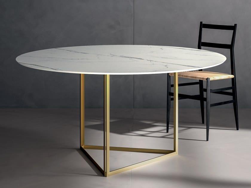 Tampo para mesa de grés porcelânico INFINITO 2.0 CALACATTA WHITE | Tampo para mesa by CERAMICA FONDOVALLE