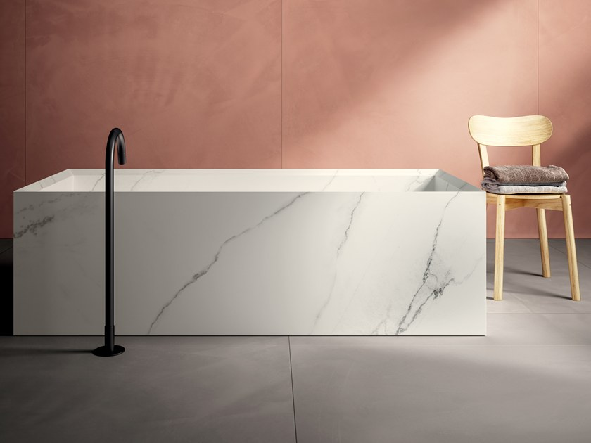 Porcelain stoneware furniture foil with marble effect INFINITO 2.0 LINCOLN | Furniture foil by CERAMICA FONDOVALLE
