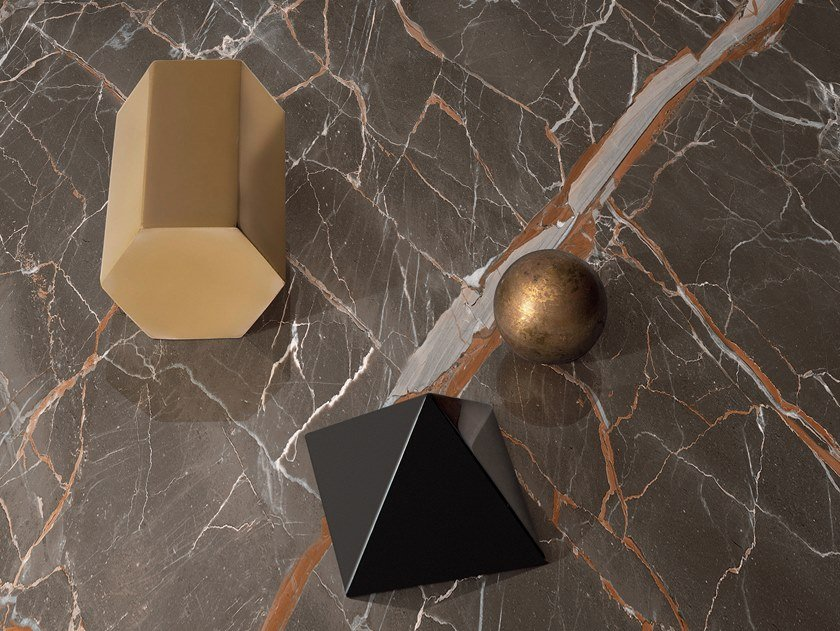 Wall/floor tiles with marble effect INFINITO 2.0 OMBRA DI CARAVAGGIO | Wall/floor tiles by CERAMICA FONDOVALLE