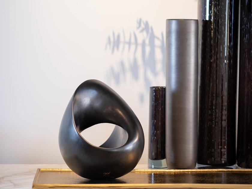 Bronze sculpture INFINITO BLACK by Gardeco