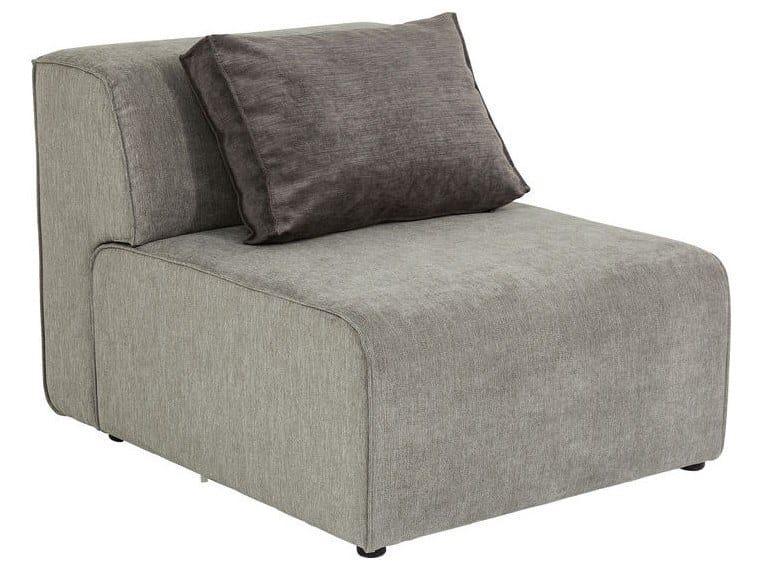 Modular polyester armchair INFINITY   Modular armchair by KARE-DESIGN
