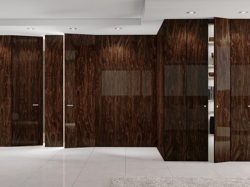 Wooden boiserie / door INFINITY TABULA by Ghizzi & Benatti